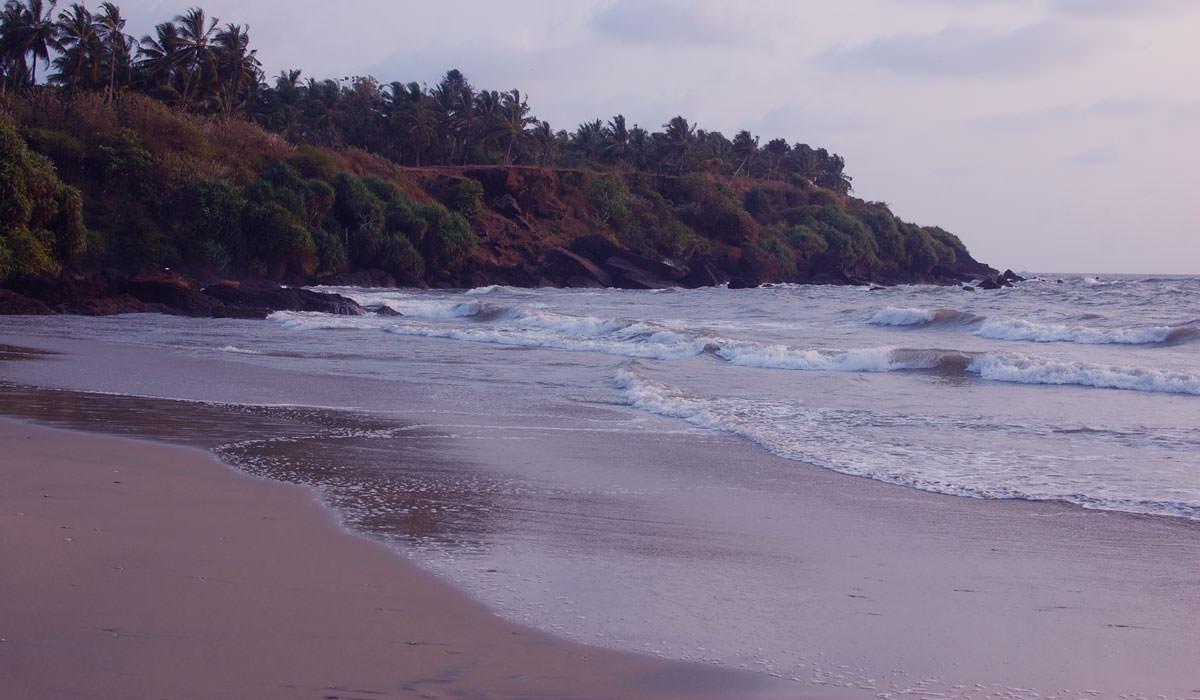 Meenkunnu Beach in Kerala