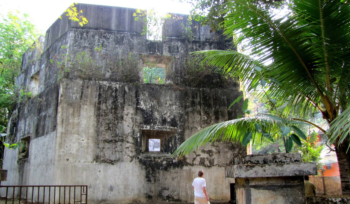 Pallipuram Fort in Kochi