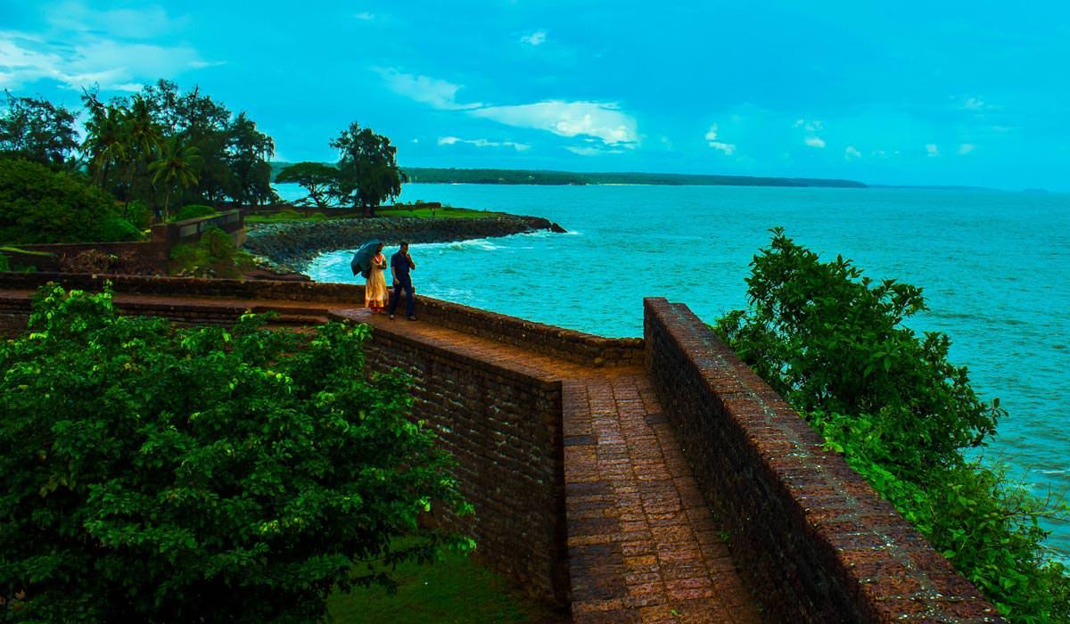 St. Angelo Fort  in Kerala
