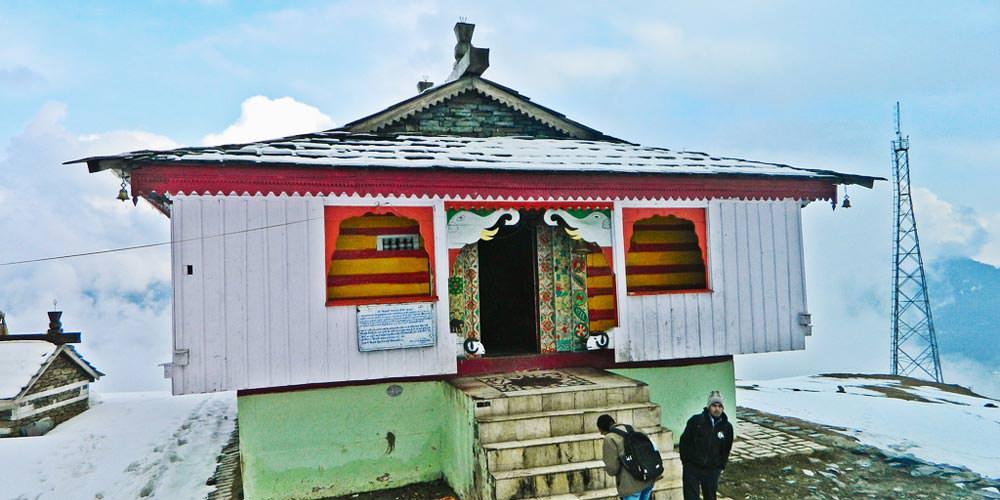 Bijli Mahadev Temple in Manali