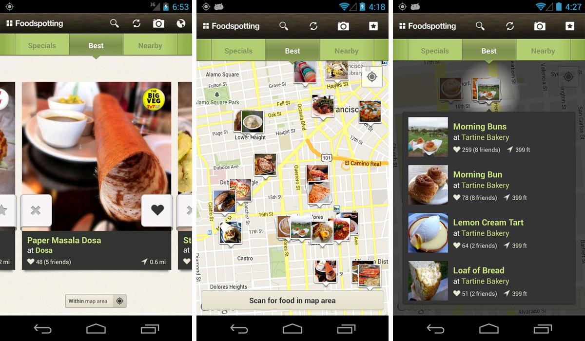 Foodspotting Travel App For Food