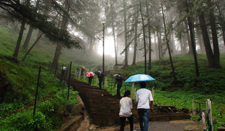 Jakhoo Hill in Shimla
