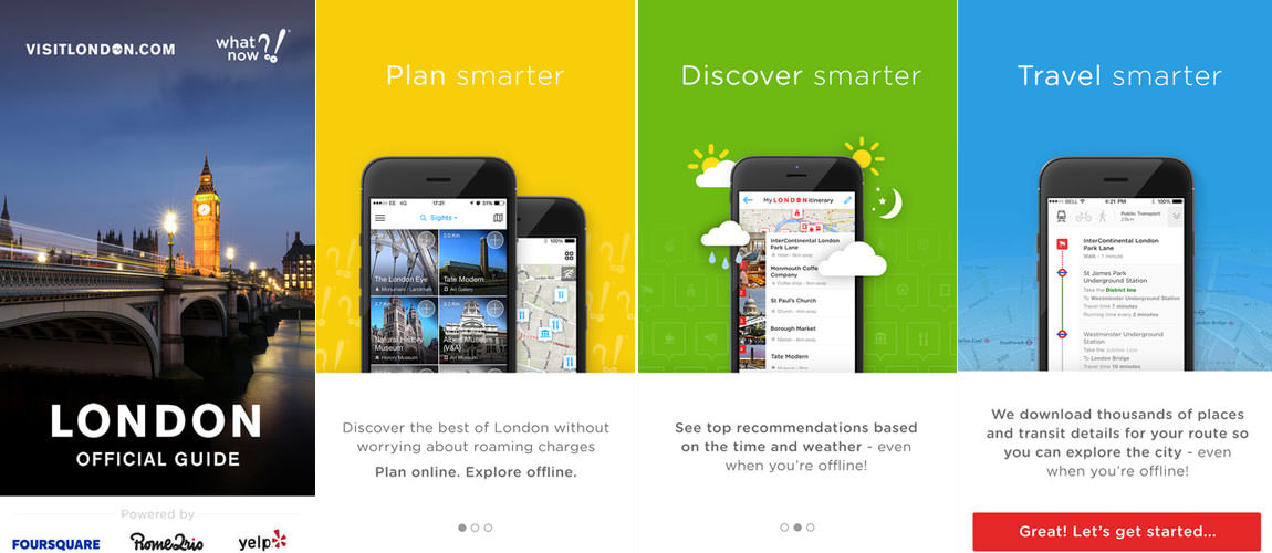 London Official City Guide App