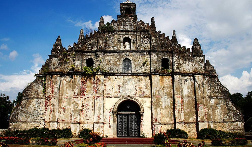 Paoay Church in Philippines