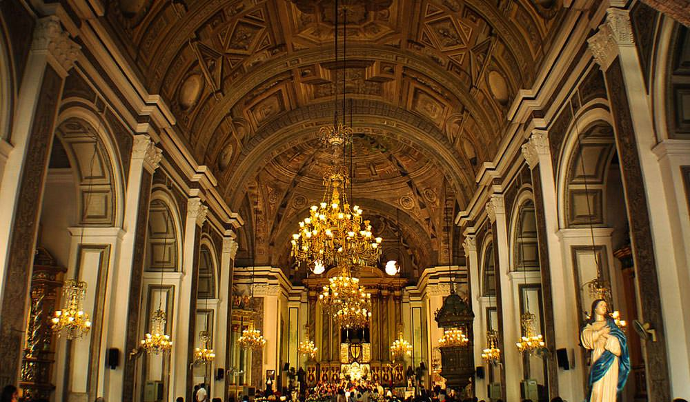 San Augustine Church in Philippines