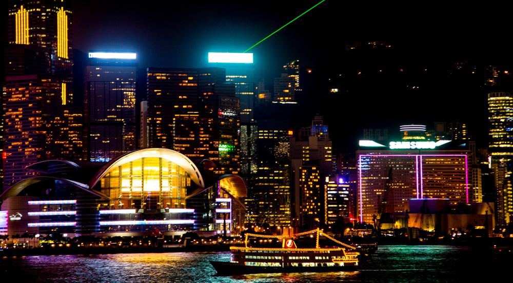 Symphony of Lights in  Victoria Harbour