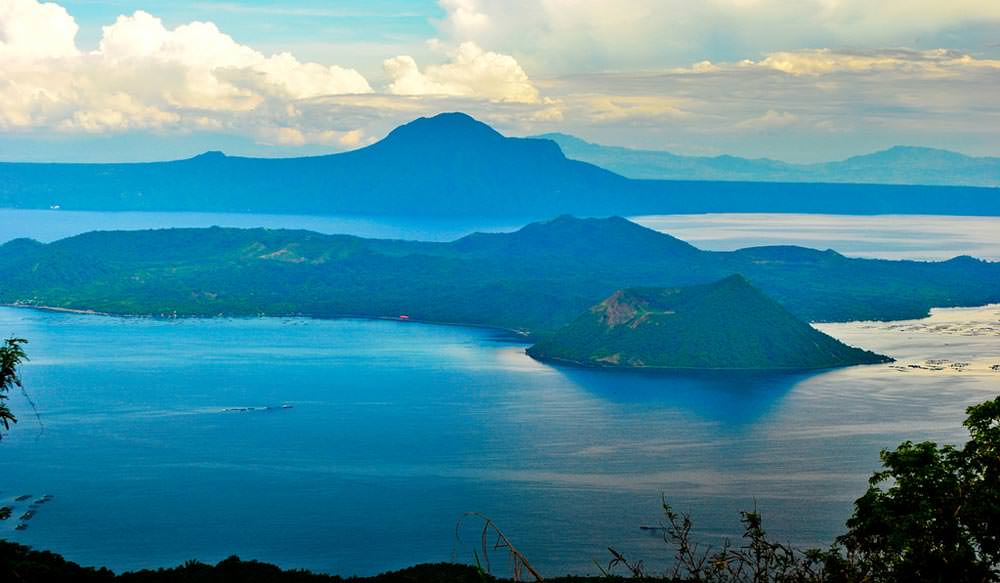 Taal Lake in Philippines