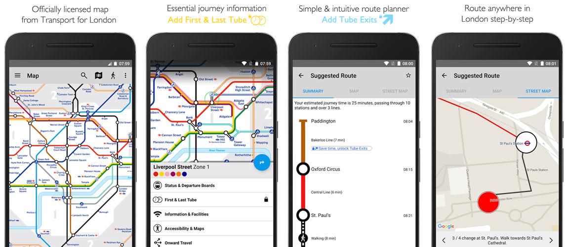 TubeMap App For london