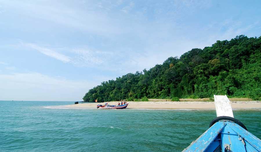 Pulau Bidan Island in Langkawi