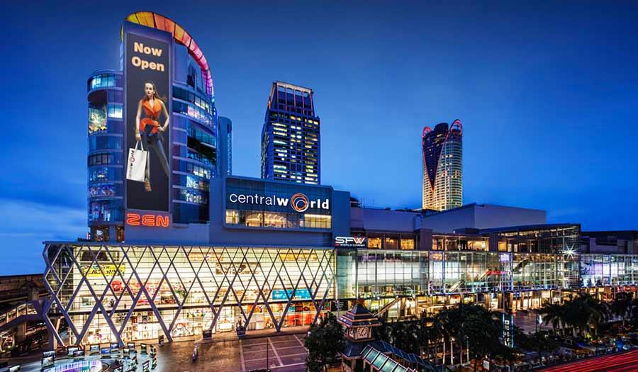 CentralWorld Shopping Plaza in Bangkok
