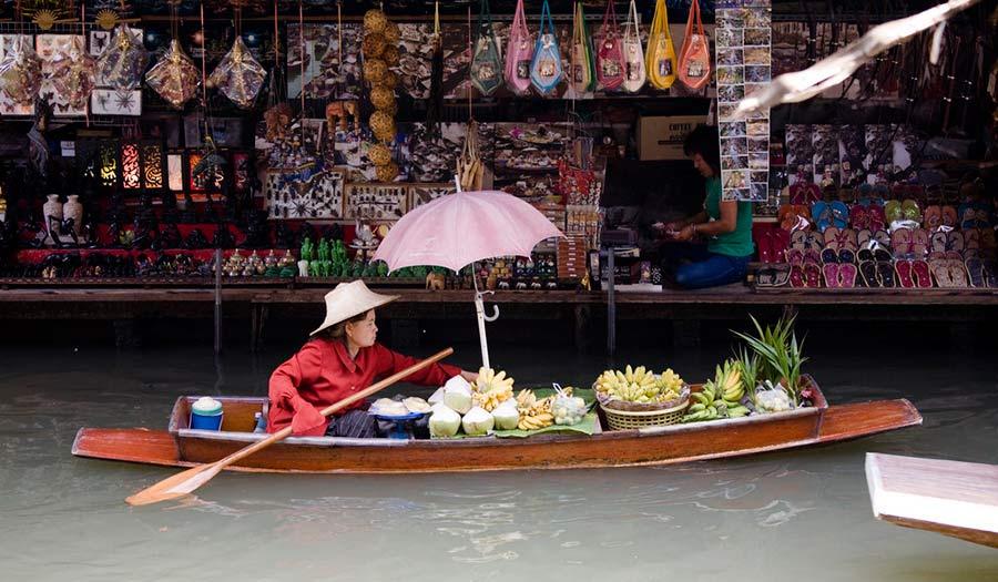 Don Wai Floating Market Bangkok