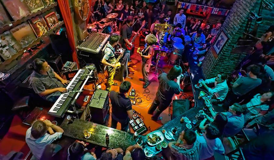Saxophone Club in Bangkok