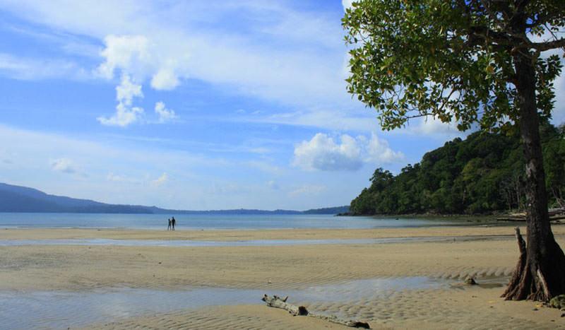 Karmatang Beach in Andaman Island