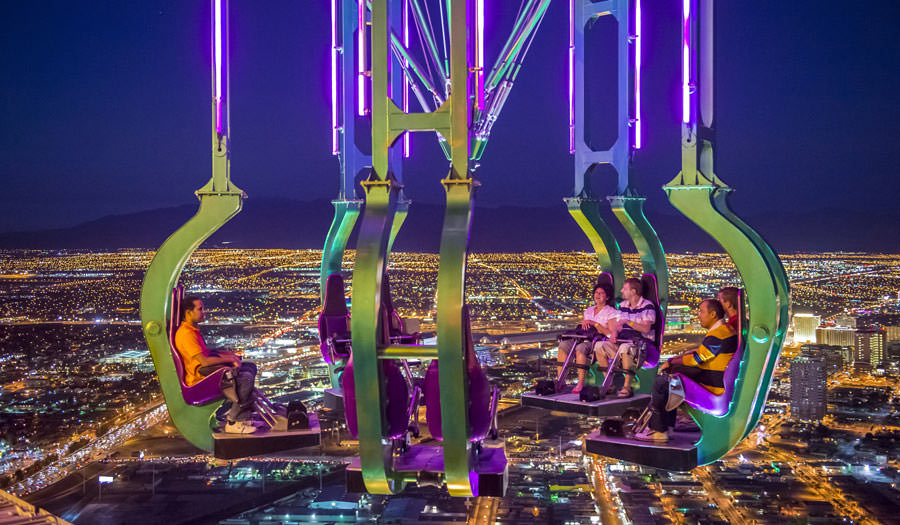 Rides at Stratosphere  Hotel in Las Veagas