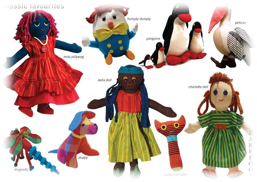 Romantic Flair Original Barefoot Toys By Barbara Sansoni