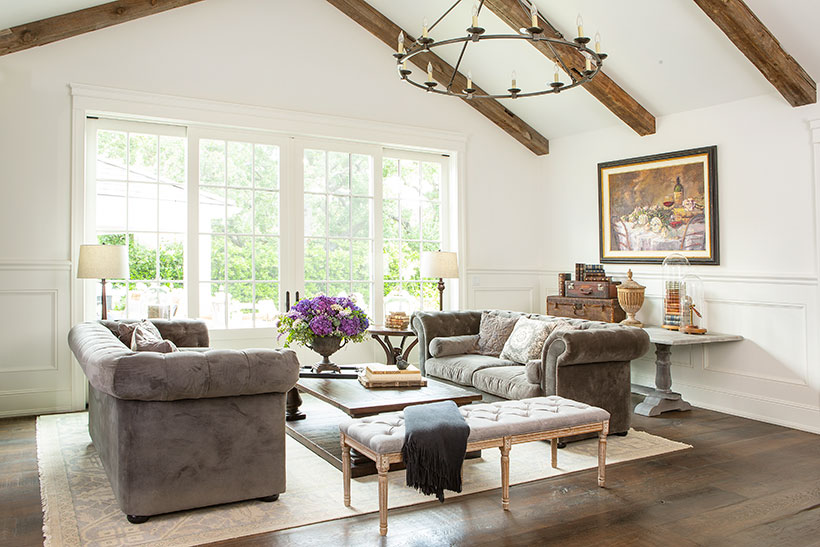 rustic elegant living room designs art for romantic homes