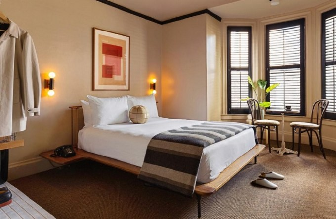 A Boutique hotel suite in Palihotel, San Francisco Downtown