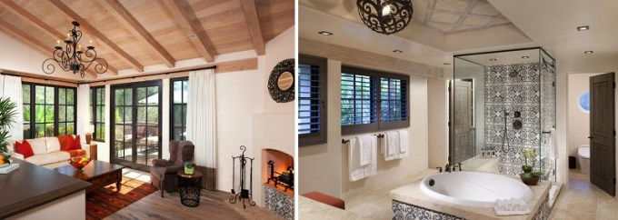 Hot Tub Suite in Rancho Valencia Resort and Spa