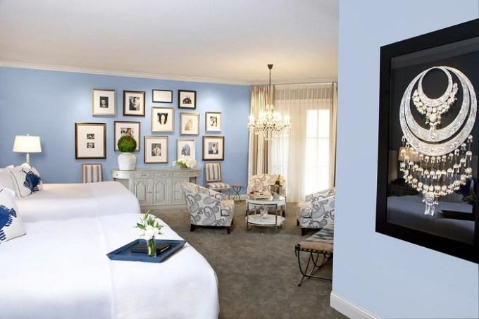A Luxury suite in Hotel ZaZa Dallas