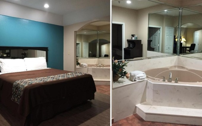 Jacuzzi room in Scottish Inns & Suites Timber Creek, Houston, TX