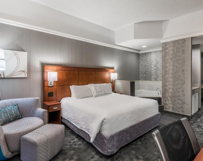 Room with Whirlpool in Courtyard by Marriott Danbury, CT