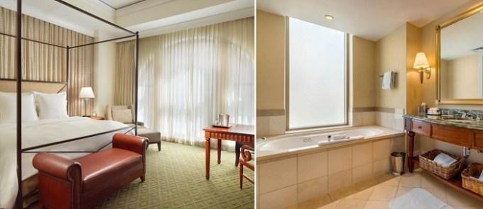 Room with private hot tub in Mokara Hotel & Spa in San Antonio, TX