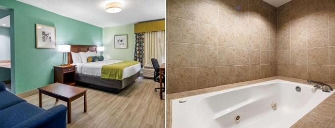 Jacuzzi suite in Best Western Plus Myrtle Beach@Intracoastal, SC