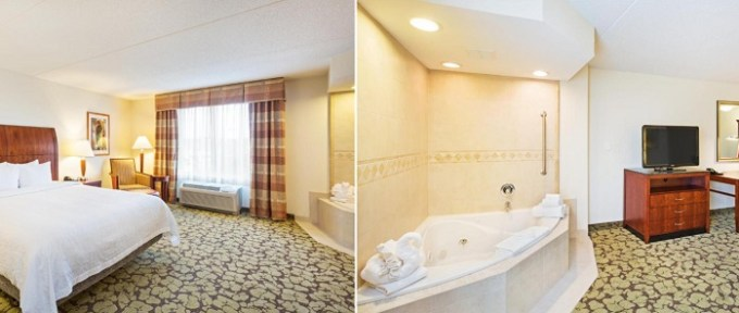 King Suite with Hot Tub in Hilton Garden Inn Myrtle Beach-Coastal Grand Mall, South Carolina