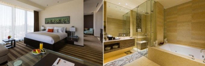 Suite with a Jacuzzi in EB Hotel Miami Airport, Florida