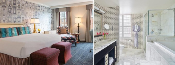 Whirlpool room in The Alexandrian Old Town Alexandria, Autograph Collection near Washington DC