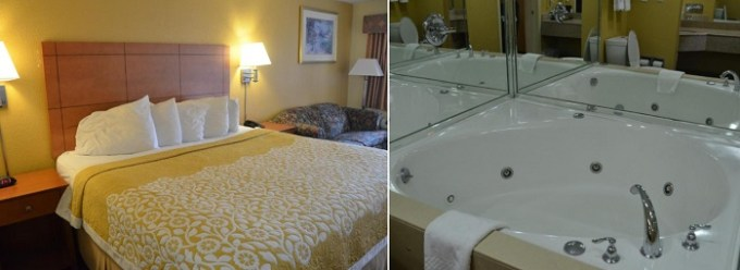 Jacuzzi room in Days Inn by Wyndham Airport Nashville East Hotel, TN