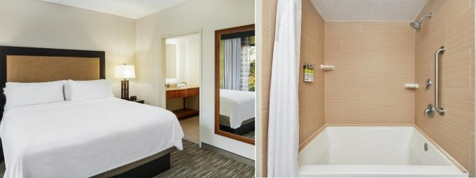 Room with a hot tub in Holiday Inn Express & Suites Jacksonville South East - Medical Center Area, FL