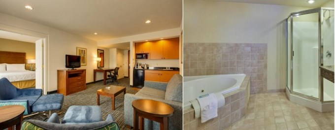 Suite with a Whirlpool in Holiday Inn Express San Francisco Airport North Hotel, CA