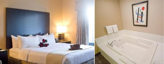 Whirlpool suite in Holiday Inn St. Paul Northeast - Lake Elmo