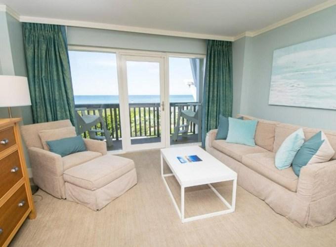 Beachfront room in WaterColor Inn & Resort, Destin, Florida