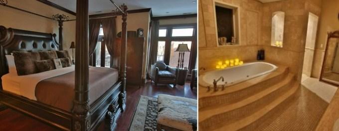 Hot Tub Suite in Villa D' Citta, Chicago, IL