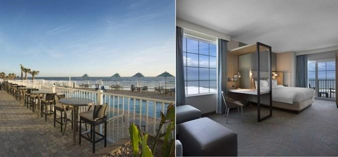 Oceanfront room in SpringHill Suites by Marriott New Smyrna Beach, near Orlando, FL