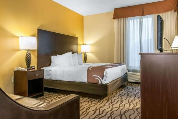 Room in Quality Inn Chester I-75, near Cincinnati, Ohio