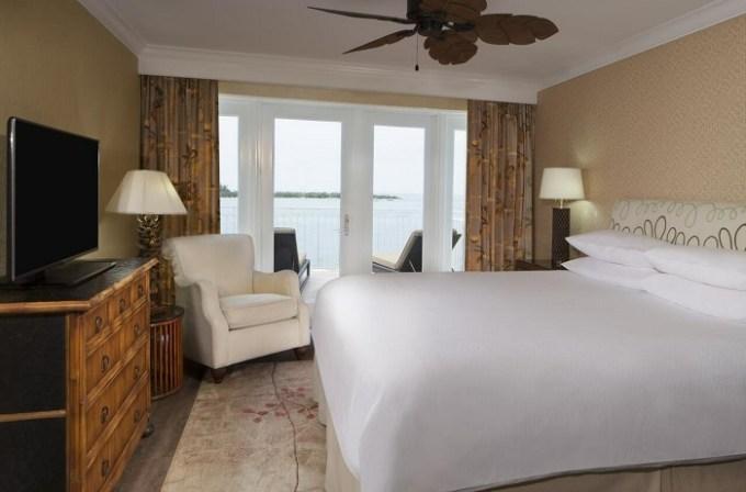 Beachfront hotel room in Pier House Resort & Spa, Key West, FL
