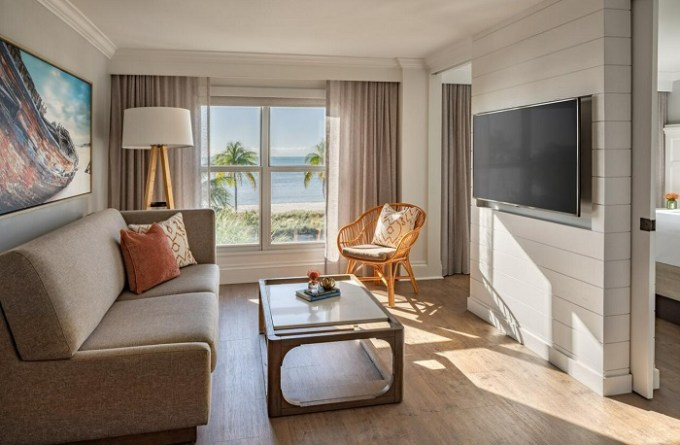 Beachfront suite in Barbary Beach House Key West, Florida