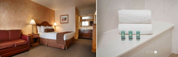 Jacuzzi suite in Best Western Casa Grande Inn, near Pismo Beach