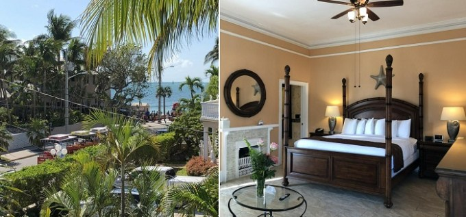The beach hotel in Southernmost Point Guest House, Key West, Fl