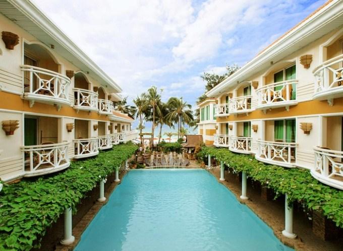 The beachfront Boracay Mandarin Island Hotel, White Station 2, Philippines
