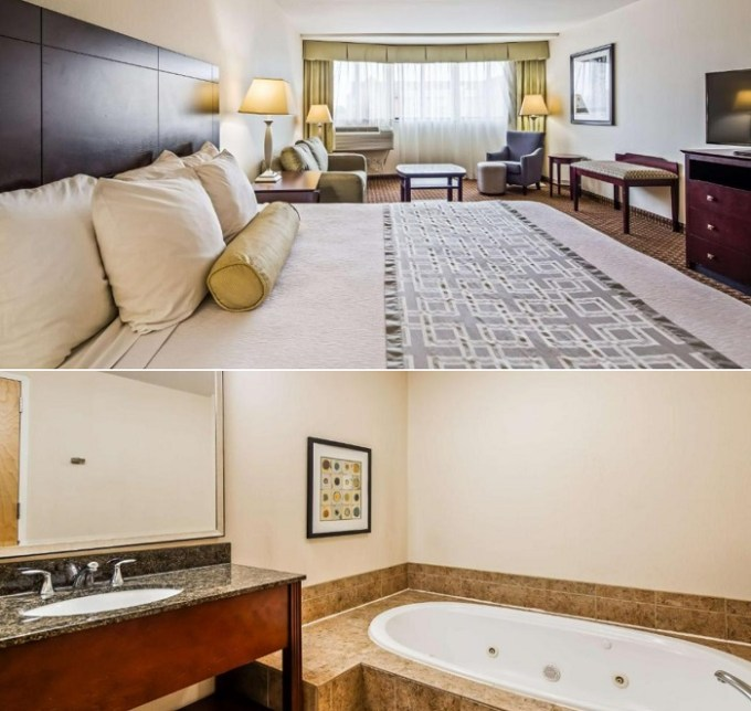 Hot tub suite in Best Western Plus Philadelphia Airport South, PA