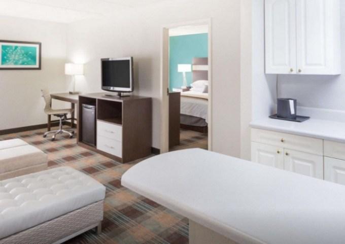 Room with Jacuzzi in Wyndham Garden Greenville - Spartanburg Airport, SC