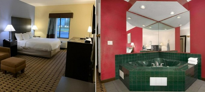 Studio Suite with Jacuzzi in Days Inn by Wyndham Mauldin-Greenville