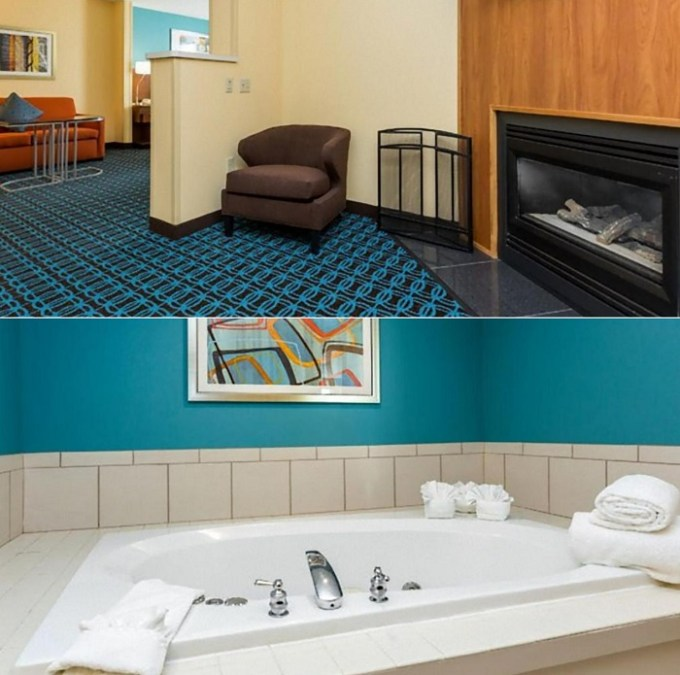 Suite with Whirlpool in Fairfield Inn & Suites Des Moines West, AI