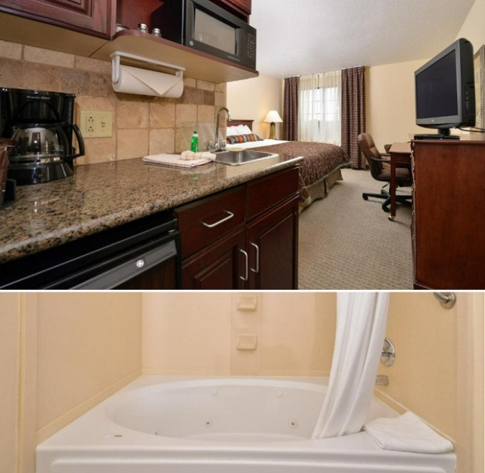Whirlpool suite in Staybridge Suites West Des Moines, an IHG Hotel, AI