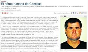 Cantabria: Un român a murit după ce a salvat doi oameni de la înec
