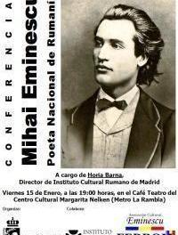 Coslada y Alcalá de Henares homenajean a Mihai Eminescu